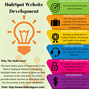 HubSpot COS Certified Agency | PSD to COS Templates | The Hub Guru