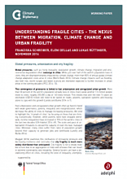 Understanding Fragile Cities – The Nexus Between Migration, Climate Change and Urban Fragility | Climate Diplomacy
