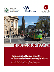 Tapping into the co-benefits of low-emission economy in cities – Discussion Paper | Climate Diplomacy