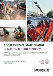 UN Habitat report: Addressing Climate Change in National Urban Policy | Climate Diplomacy