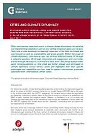 Cities and Climate Diplomacy | Climate Diplomacy