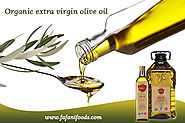 Benefits of Organic Extra Virgin Olive Oil