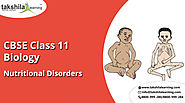 Biology Class 11 Notes Nutritional Disorders |11th Class Science