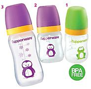 Tupperware Baby Bottles