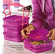 Review of Tupperware Crystalwave Goody box set