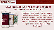 Leading Mobile App Design Services Provider In Albany NY | Visual.ly