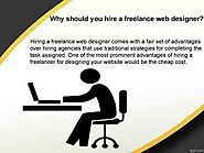 Why should you hire a freelance web designer?