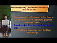 How to Begin a Website Design Company?