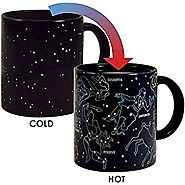 Heat Changing Constellation Mug by The Unemployed Philosophers Guild - Stars Appear in the Night Sky on this Color Ch...