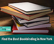 Find the Best Bookbinding in New York at TripKen