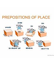 Prepositions of place on Tinycards