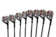 Petite Senior Womens Majek Golf Clubs All Ladies Hybrid Complete Full Lightweight Graphite Set which Includes: #3, 4,...