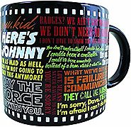 Classic Movie Coffee Mug - The Most Famous Lines from Your Favorite Movies - From Star Wars to The Wizard Of Oz - Com...