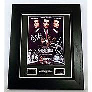Goodfellas Signed + Goodfellas Film Cells Framed by artcandi