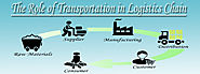 The Role of Transportation in Logistics Chain - Transtrade