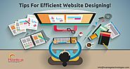 Tips for Efficient Website Designing