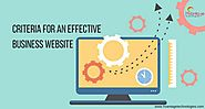 Criteria for an Effective Business Website