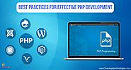 Best Practices for Effective PHP Development