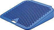Gymnic Movin' Sit Inflatable Seat Cushion, Blue