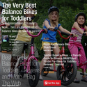 The Very Best Balance Bikes for Toddlers - Guide for Parents