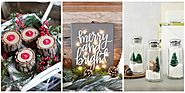 35 DIY Christmas Decorations That Are Merry and Bright