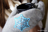 Sweater mittens craft - Everyday Dishes & DIY
