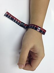 Get Fabric Wristbands in Bulk at Best Rate