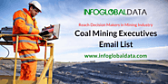 Coal Mining Executives Email List
