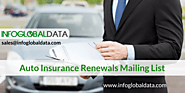 Auto Insurance Renewals Mailing List