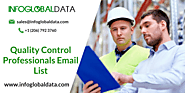 Quality Control Professionals Email List