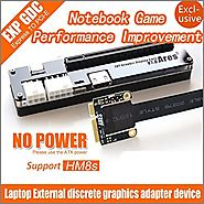 EXP GDC Laptop External PCI-E Graphics Card