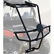 Polaris RZR 800, 800 S, 800 XC, 800-S LE Tusk RZR Bumper Spare Tire Carrier and Rack 2007 - 2014
