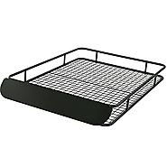 Apex RBC-6245HD Black X-Large Steel Roof Cargo Basket