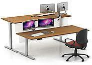 Health Benefits Of Using Height Adjustable Table & Desks