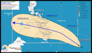 #ZoraidaPH: Tropical Depression ZORAIDA maintains strength towards Philippnes