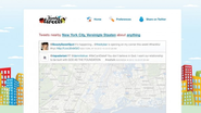 Nearby tweets: Zeigt Tweets aus Deiner Umgebung an! Search local tweets by location and keyword