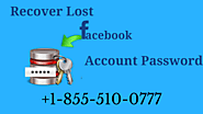 Why Need To Recover Facebook Password