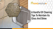Marble Stone Panels - A Handful of Cleaning Tips to Maintain Its Gloss and Shine