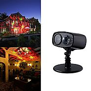 Kivis 2 IN 1 LED kaleidoscope Projectors laser light Spider Lights for Halloween/ Holiday/ Party/ Home Decor