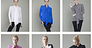 Modern Silk Blouse | Silk Wrap Shirt | Womens Wrap Top