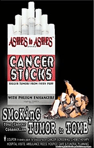 Student Smoking Poster: Cancer Sticks