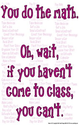 (b84) Poster #175- Math Classroom Motivational, Inspirational Poster for High, Middle, Elementary