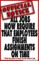 (d40) Poster #331- Poster Teaches Students to Finish Assignments