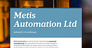 Factory Control Systems- Metis Automation Ltd