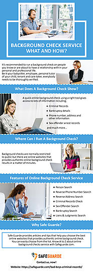 What Does A Background Check Show?