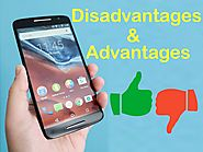 Find advantages and disadvantages of mobile phone