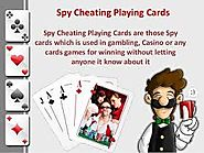 Website at http://spyproductdealer.in/spy-playingcards-in-delhi.html
