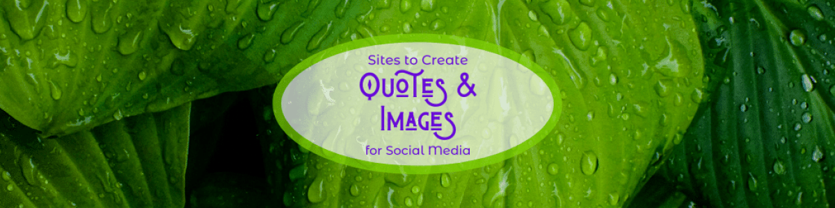 Headline for DIY Images with Quotes for Social Media