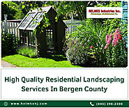 High Quality Residential Landscaping Services In Bergen County