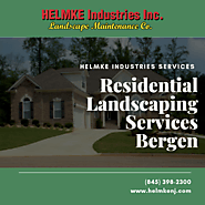Residential landscaping Services Provider In Bergen